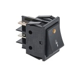 Black Bipolar Switch 16A 250V 346108